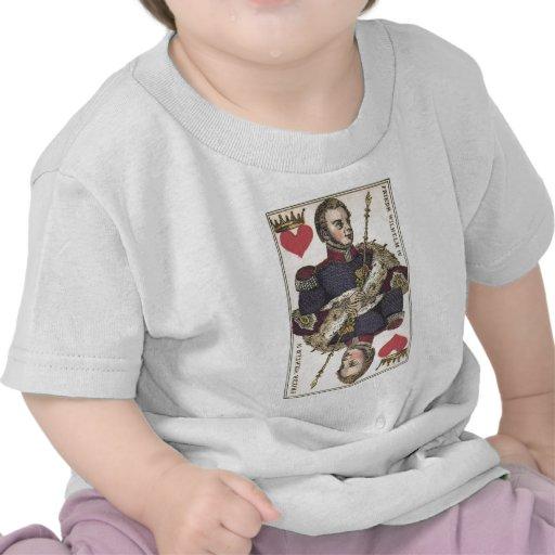 Impresión Friedr Wilhelm del vintage de REY OF Camiseta