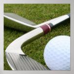 Impresión Golfing del poster