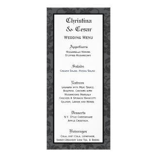 Impresión gótica formal gris del negro de 25 tarje tarjetas publicitarias