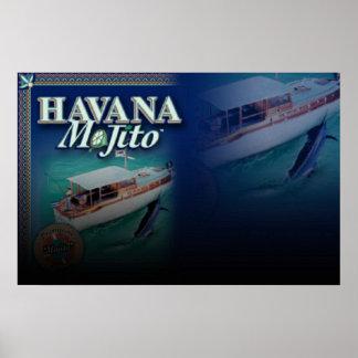 Impresión GRANDE de la LONA de LA HABANA MOJITO Posters