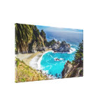 Impresión grande de la lona de la playa de Sur Cal Impresiones De Lienzo