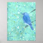 Impresión grande del Bluebird Impresiones