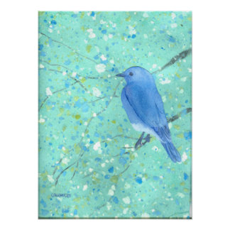Impresión grande del Bluebird Póster