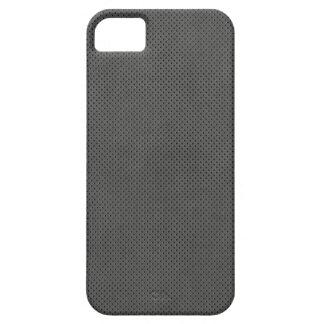 Impresión gris del metal en el caso del iPhone 5 iPhone 5 Coberturas