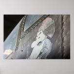 """Impresión """"gruñona"""" de B-25 Noseart Impresiones"""