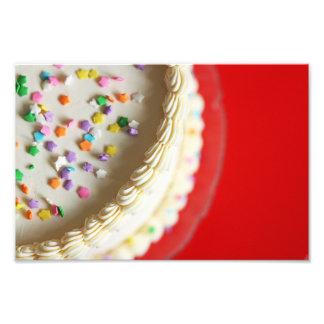 Impresión guapita de cara de la foto de la torta fotografías