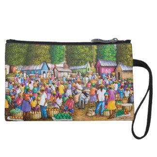Impresión haitiana del mercado