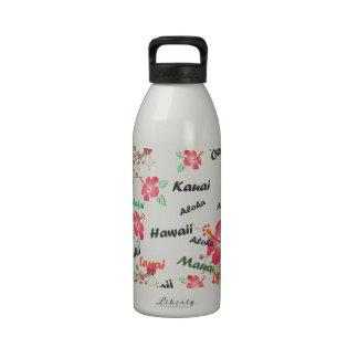 Impresión hawaiana botellas de beber