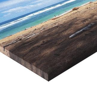 Impresión hawaiana de la lona de la playa