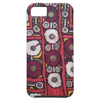 Impresión hecha a mano india de la materia textil  iPhone 5 fundas