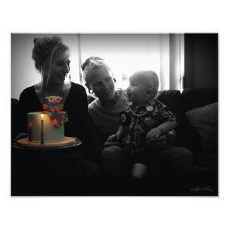 Impresión hermosa de Klease-McCreath de la familia Fotografía