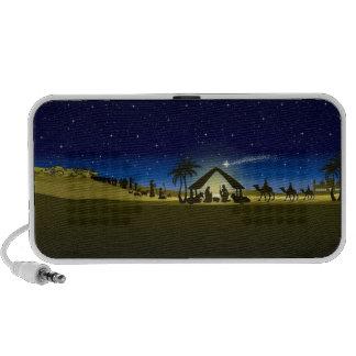 impresión hermosa de la imagen de la natividad del iPod altavoz