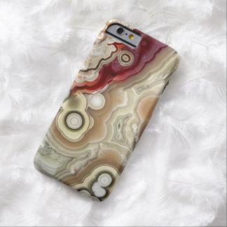 Impresión hermosa del iPhone de la piedra de la Funda De iPhone 6 Barely There