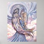 Impresión hermosa del poster del ángel por Molly H