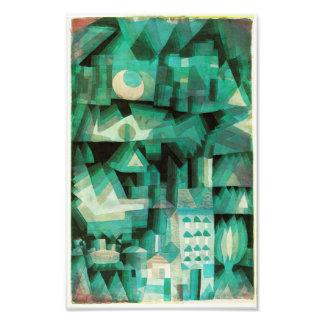 Impresión ideal de la ciudad de Paul Klee Fotografía
