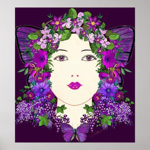 Impresión illuminada de Persephone Impresiones