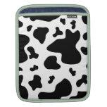 Impresión imponente de la vaca funda para iPads