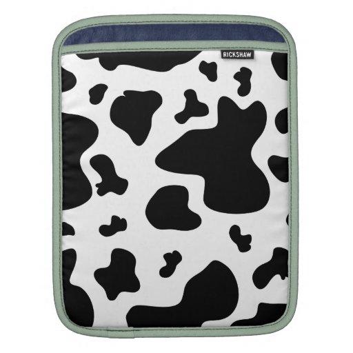 Impresión imponente de la vaca fundas para iPads