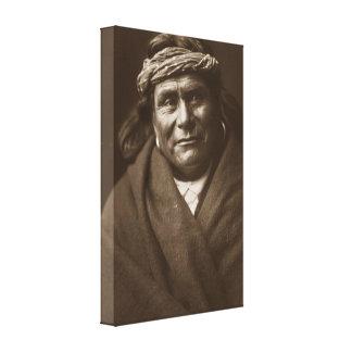 Impresión india de la lona de la caja del nativo a impresión en lienzo estirada