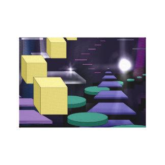 Impresión infinita de la lona de las escaleras impresiones en lienzo estiradas