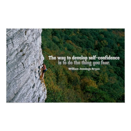 Impresión inspirada del poster de la confianza en