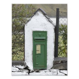 Impresión irlandesa de la foto del correo