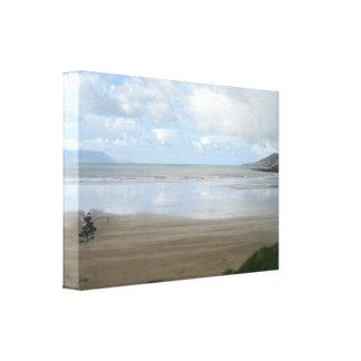Impresión irlandesa de la lona de la playa impresión en lona