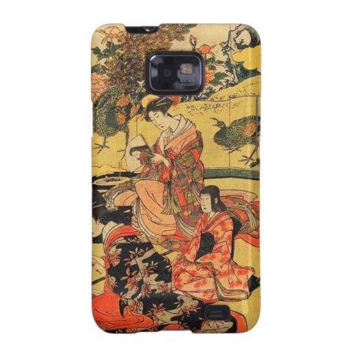 Impresión japonesa Daimyō del arte ningún okuzashi Galaxy S2 Carcasas