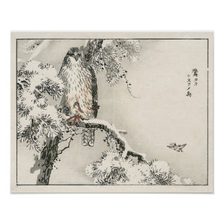 Impresión japonesa de las ilustraciones posters