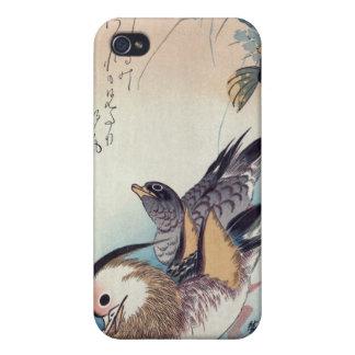 Impresión japonesa del woodblock iPhone 4/4S carcasa