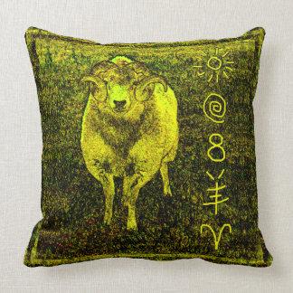 Impresión mágica del arte del estilo del vintage almohada