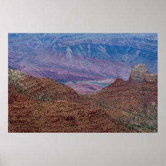 Impresión magnífica del punto 4876 de Navajo Póster