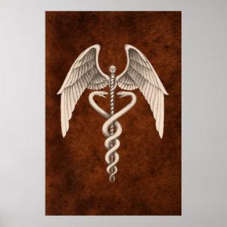 Impresión médica del negocio del símbolo del póster