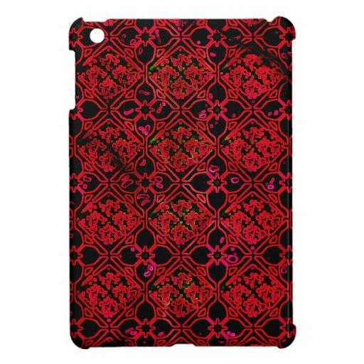 Impresión medieval roja del Grunge fresco iPad Mini Coberturas