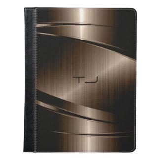 Impresión metálica del acero inoxidable de Brown