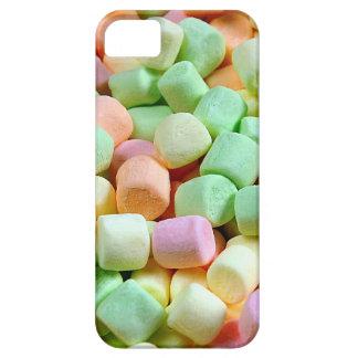 Impresión miniatura colorida de la melcocha iPhone 5 Case-Mate protector