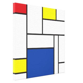 Impresión minimalista de la lona de arte de