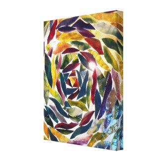 Impresión moderna de cristal artística de la foto impresiones de lienzo