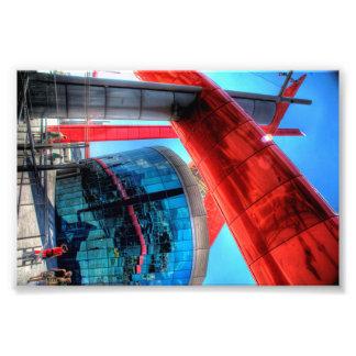 Impresión moderna de HDR de la arquitectura de la Fotografía