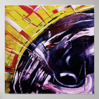 Impresión moderna de la lona de arte abstracto impresiones