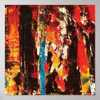 Impresión moderna del arte abstracto impresiones