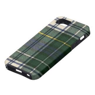 impresión moderna del tartán del vestido de Campbe iPhone 5 Cárcasas