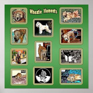 Impresión: Momentos de Wheatie Poster