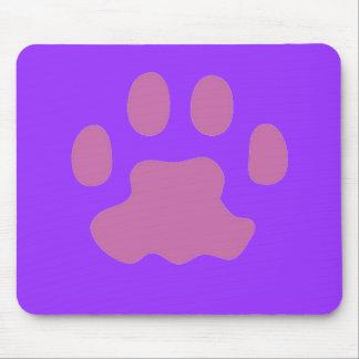 Impresión Mousepad de la pata del gato Tapete De Ratón