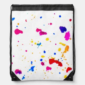 Impresión multicolora del extracto de la mochilas