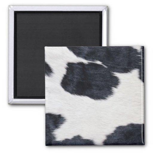 Impresión negra/blanca del zurriago occidental del imanes de nevera