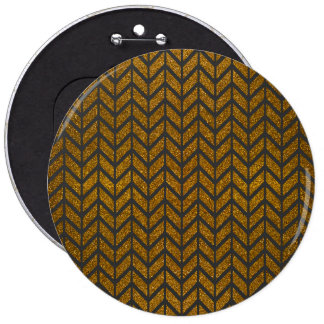 Impresión negra de la foto del brillo de Chevron Pin