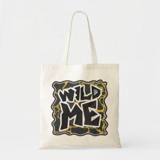 Impresión negra y amarilla de la jirafa bolsas