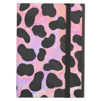 Impresión negra y rosada dálmata
