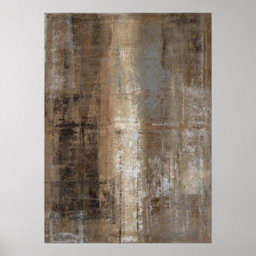 """Impresión neutral """"delgada"""" del poster del arte"""